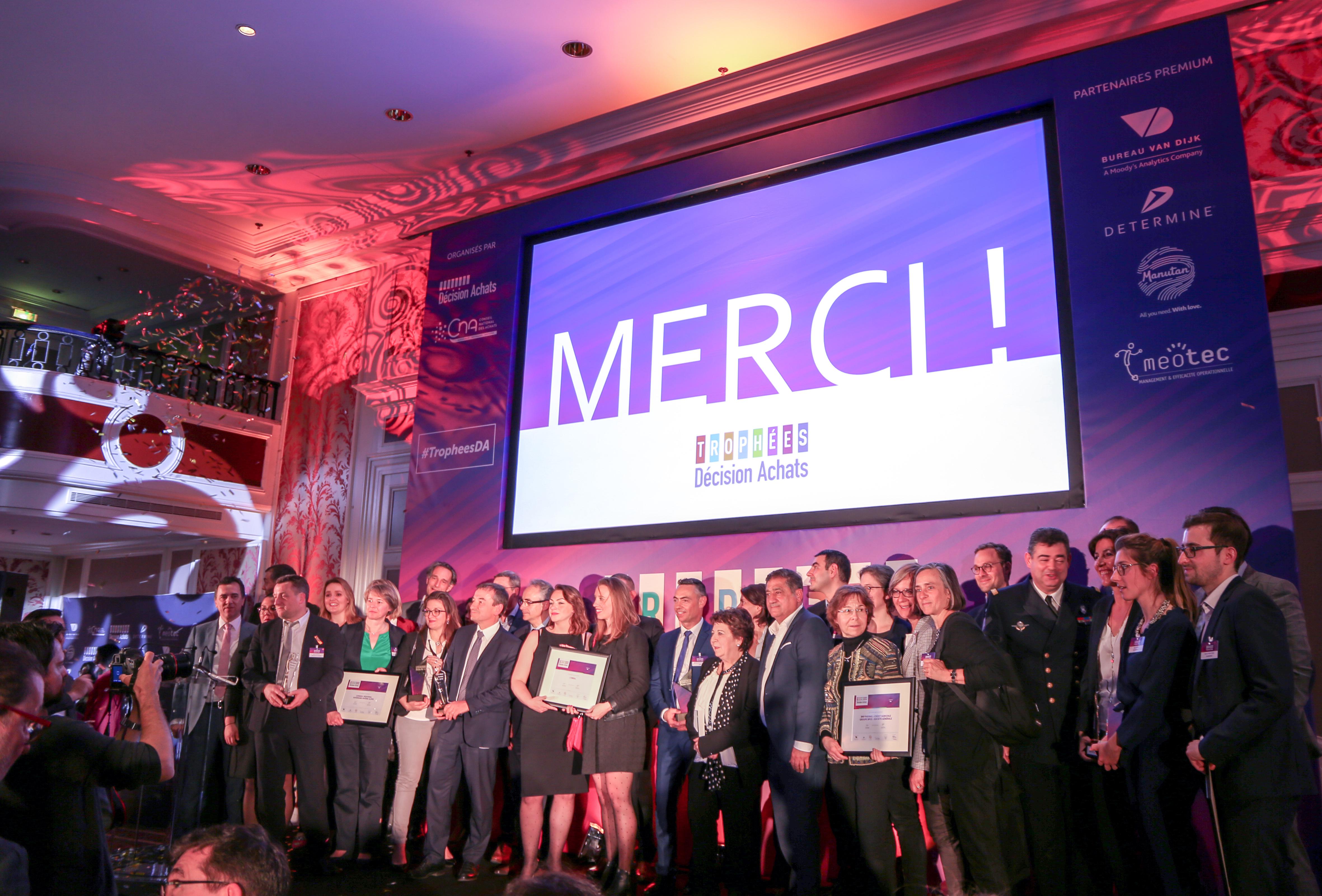 Silex et le Ministère des Armées étaient récompensés aux Trophées Décision Achats de 2019