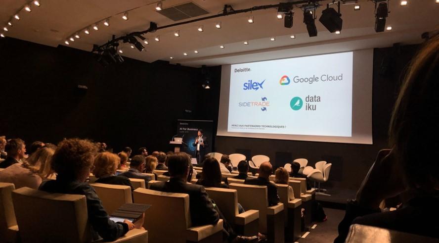 Silex était à l'événement AI for Business organisé par Deloitte