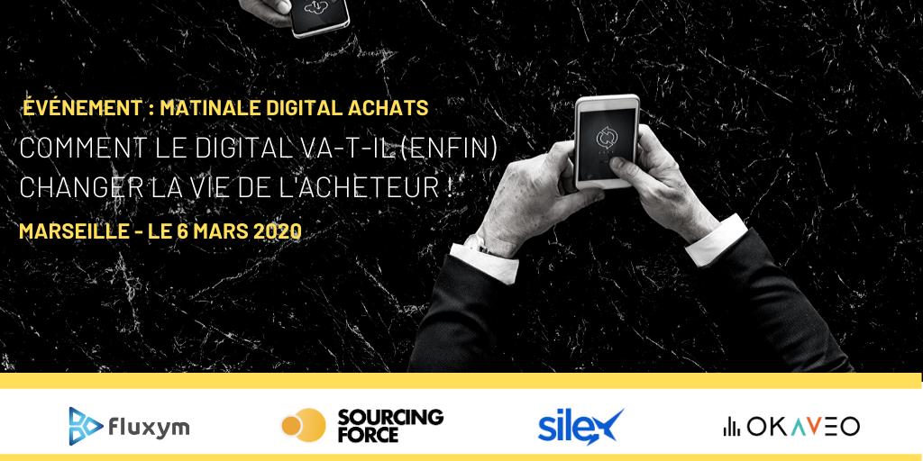 L'équipe Silex sera présente à la Matinale Achats le 6 mars 2020 à Marseille