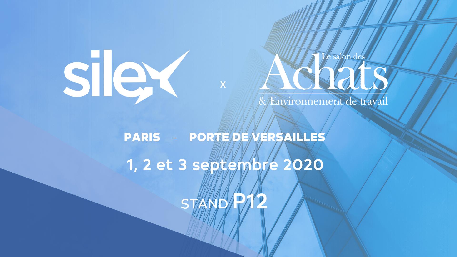 Silex au Salon des Achats & de l'Environnement de Travail 2020