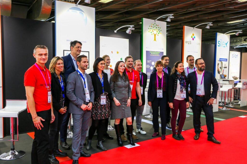 Silex et nos partenaires lors de l'édition 2019 du Salon Solutions.